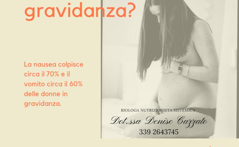 Nausea in gravidanza: aiuto dalla medicina alternativa
