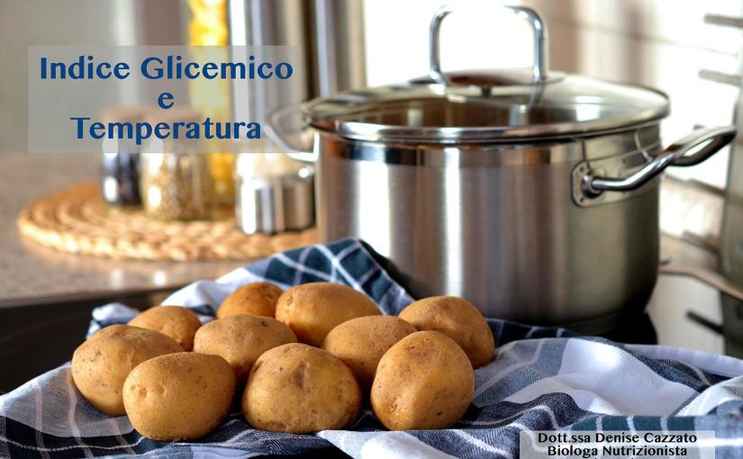 Indice glicemico e Temperatura